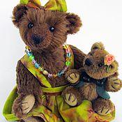 """Куклы и игрушки ручной работы. Ярмарка Мастеров - ручная работа Мишка тедди """"Медведица Дуняша"""" (24 см). Handmade."""