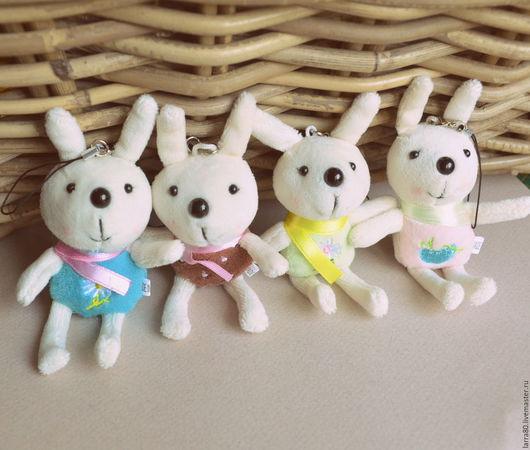 Куклы и игрушки ручной работы. Ярмарка Мастеров - ручная работа. Купить 4 цвета зайчики 12 см. Handmade.