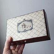 Для дома и интерьера handmade. Livemaster - original item box money or other important items