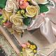 Свадебные цветы ручной работы. Букет невесты. IRINA KOVTUN (ikovtun). Интернет-магазин Ярмарка Мастеров. Зеленый, букет невесты