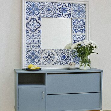 Для дома и интерьера ручной работы. Ярмарка Мастеров - ручная работа Зеркало. Handmade.