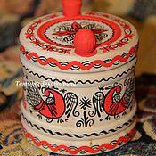 Русский стиль ручной работы. Ярмарка Мастеров - ручная работа солонка. Handmade.