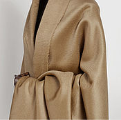 Материалы для творчества handmade. Livemaster - original item Max Mara double-Sided cashmere overcoat fabric. Winter. Handmade.