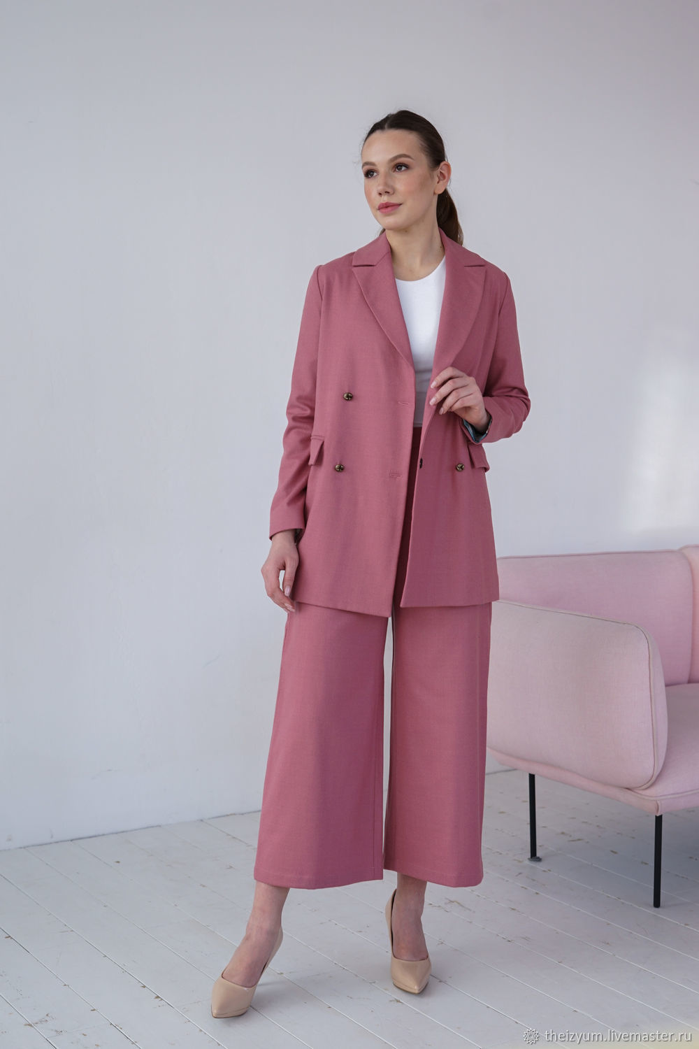 Culottes in wool crepe, Pants, Moscow,  Фото №1