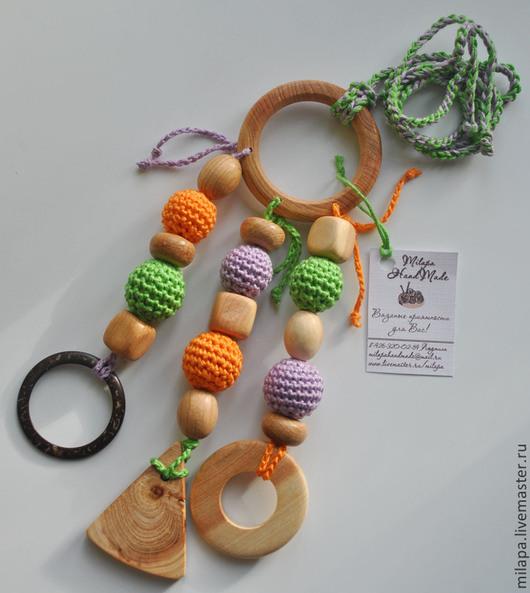 Развивающие игрушки ручной работы. Ярмарка Мастеров - ручная работа. Купить Игрушка грызунок кольцо. Handmade. Игрушка ручной работы