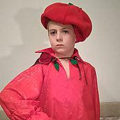 Работы для детей, ручной работы. Ярмарка Мастеров - ручная работа Костюм помидора. Handmade.