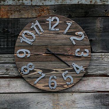 Для дома и интерьера ручной работы. Ярмарка Мастеров - ручная работа Интерьерные часы. Handmade.