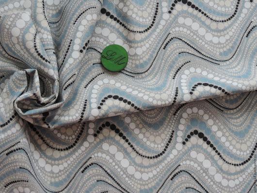 Шитье ручной работы. Ярмарка Мастеров - ручная работа. Купить ткань лен хлопок Ожерелье. Handmade. Ткань лен, хлопок
