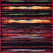 Винтаж ручной работы. Ярмарка Мастеров - ручная работа Платок из натурального шёлка. Handmade.