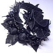 Украшения handmade. Livemaster - original item Gothic Princess. Jewelry set leather. Handmade.