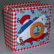 """Куклы и игрушки ручной работы. Ярмарка Мастеров - ручная работа Книга развивающая """"Кораблик"""". Handmade."""