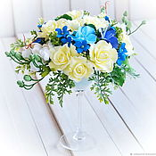 Цветы и флористика handmade. Livemaster - original item Flowers in a glass. Handmade.