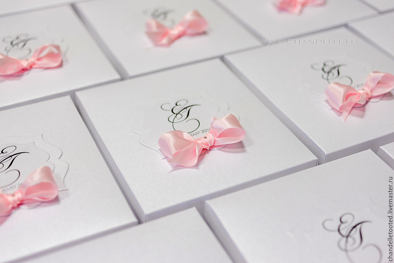 Handmade wedding invitation – shop online on Livemaster with ...