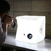 Материалы для творчества ручной работы. Ярмарка Мастеров - ручная работа Большой лайтбокс  (фотобокс) для предметной фотосъёмки. Handmade.