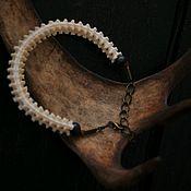 Украшения handmade. Livemaster - original item Snake vertebra bracelet. Handmade.