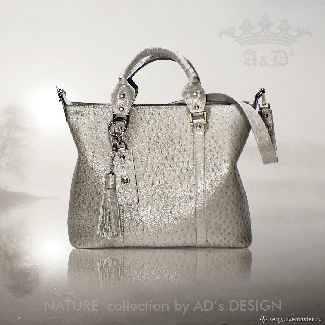 Сумка из кожи  Tuscany Camel-Bird Silver, Классическая сумка, Москва,  Фото №1