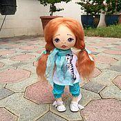 Куклы и игрушки ручной работы. Ярмарка Мастеров - ручная работа Камила. Текстильная кукла.. Handmade.