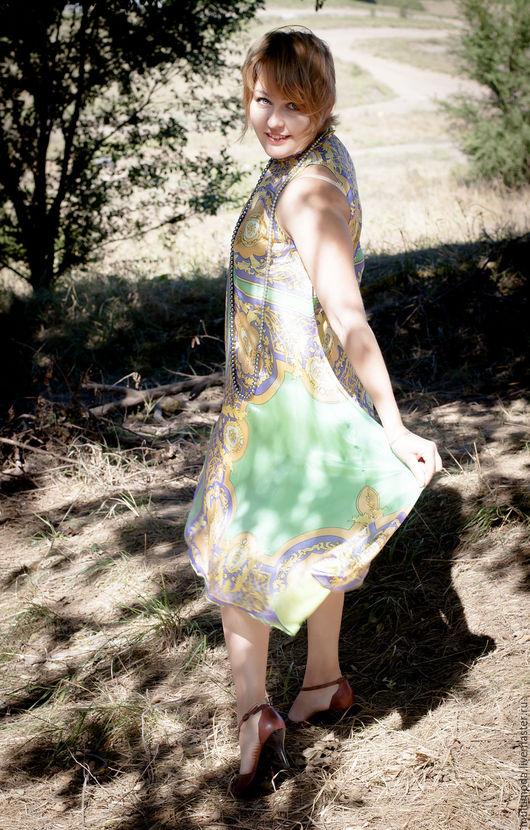 Платья ручной работы. Ярмарка Мастеров - ручная работа. Купить Платье ..Византия... Handmade. Орнамент, нарядное платье