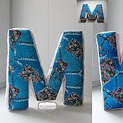 Для дома и интерьера ручной работы. Ярмарка Мастеров - ручная работа Буква-подушка. Handmade.