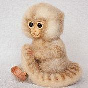 Куклы и игрушки ручной работы. Ярмарка Мастеров - ручная работа Обезьянка Чика. Handmade.