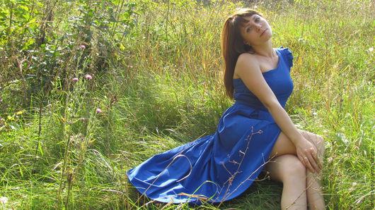 """Платья ручной работы. Ярмарка Мастеров - ручная работа. Купить Платье """"Электра"""". Handmade. Платье, вечернее платье, платье с поясом"""
