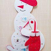 Подарки к праздникам ручной работы. Ярмарка Мастеров - ручная работа Адвент календарь. Handmade.