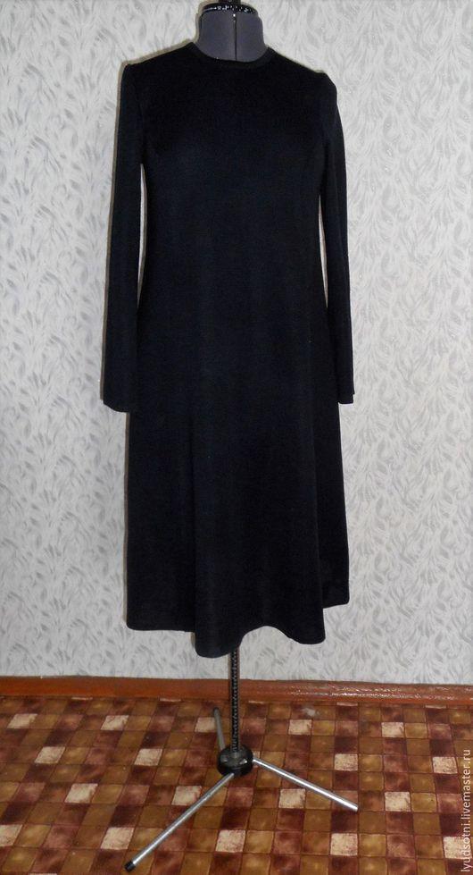 """Платья ручной работы. Ярмарка Мастеров - ручная работа. Купить Платье """" Трапеция """". Handmade. Черный, однотонный"""