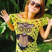 Одежда handmade. Livemaster - original item Sirloin OWL. Handmade.