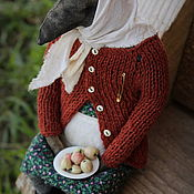 Куклы и игрушки handmade. Livemaster - original item Baba Valya. Handmade.