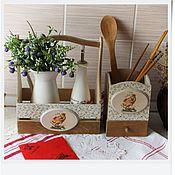 """Для дома и интерьера ручной работы. Ярмарка Мастеров - ручная работа набор для кухни """"Пасхальный"""". Handmade."""