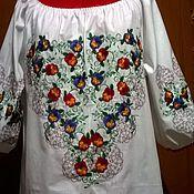 Одежда handmade. Livemaster - original item Women`s embroidery ЖР3-030. Handmade.