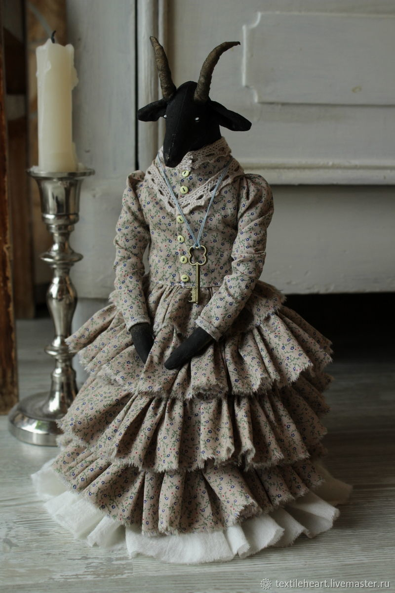 Elodiya.The black goat, Dolls, Tver,  Фото №1