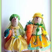 Народная кукла ручной работы. Ярмарка Мастеров - ручная работа Текстильный Заяц.. Handmade.
