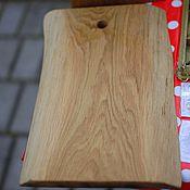 Для дома и интерьера ручной работы. Ярмарка Мастеров - ручная работа Доска разделочная Дубовая. Handmade.
