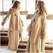 Одежда handmade. Livemaster - original item Linen set of two dresses