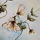 Картины цветов ручной работы. Заказать Горошек. Светлана (yuzhveta). Ярмарка Мастеров. Горох, растения