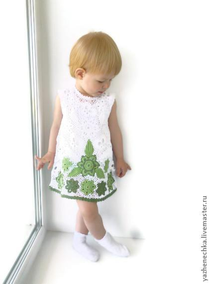 Cotton dress for girl Summer is hot, Hello))), Dresses, Yurga,  Фото №1