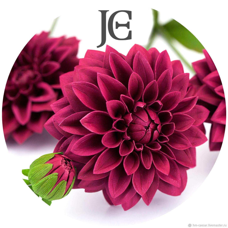 Цветы георгины из ткани своими руками фото 71