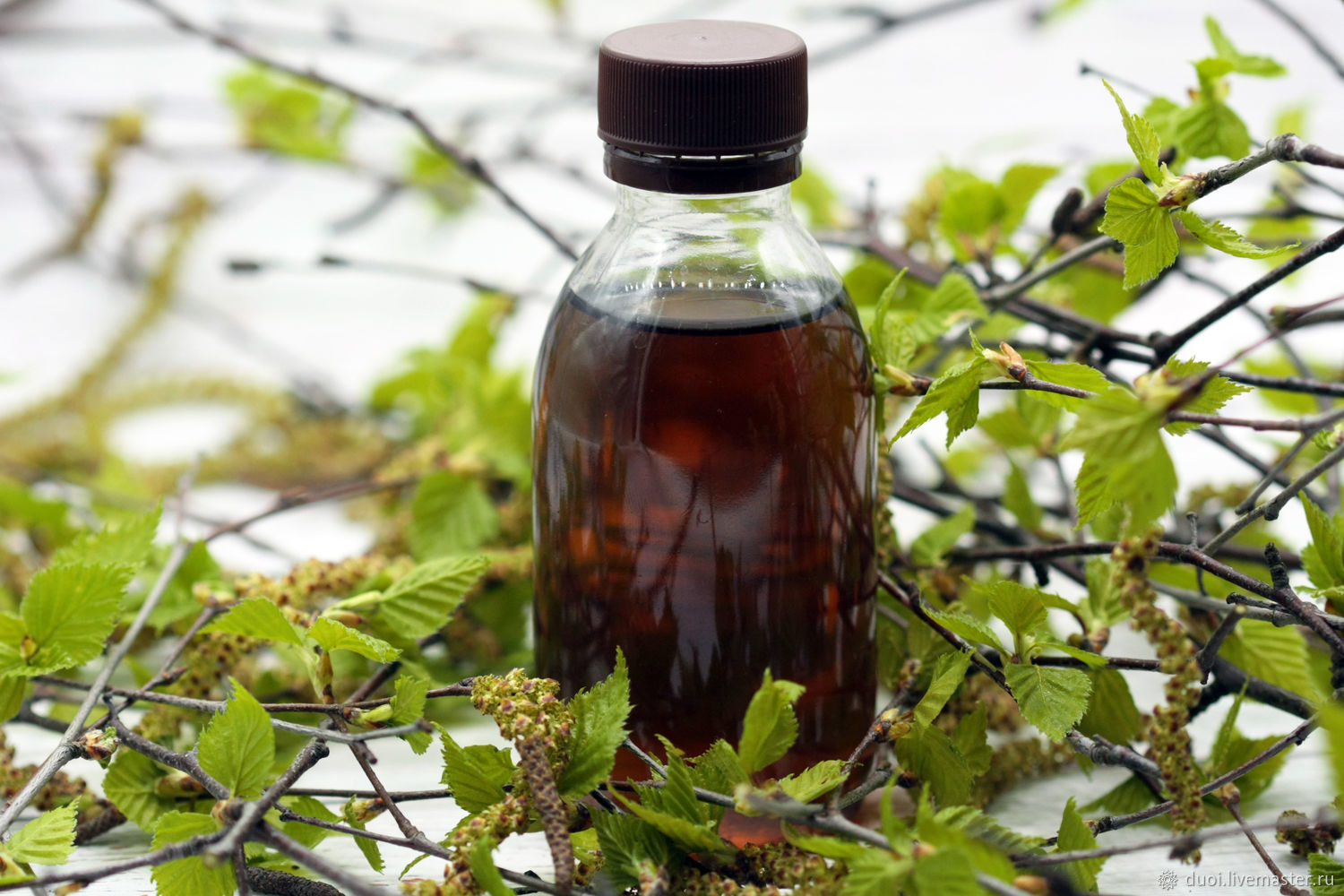 Vinegar for rinsing hair with birch buds, Hair Mask, Moscow,  Фото №1