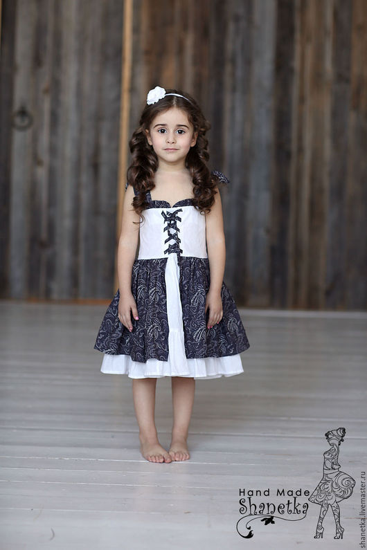 Платье хлопок для девочки купить в Москве  #платьехлопок #платьехлопковое