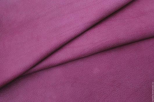 """Шитье ручной работы. Ярмарка Мастеров - ручная работа. Купить Натуральная кожа КРС """"Fucsia"""". Handmade. Кожа, модная сумка"""