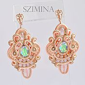 Украшения handmade. Livemaster - original item Soutache earrings For the Summer!!1. Handmade.