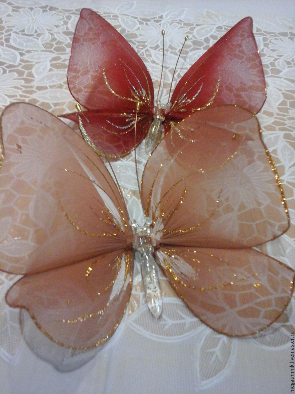 Декоративная бабочка Правильный мир 93