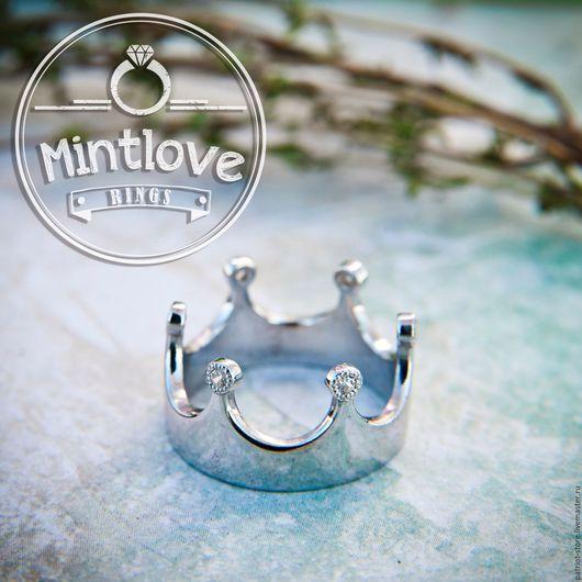 Кольца ручной работы. Ярмарка Мастеров - ручная работа. Купить Кольцо Корона. Handmade. Кольцо, серебряное кольцо корона
