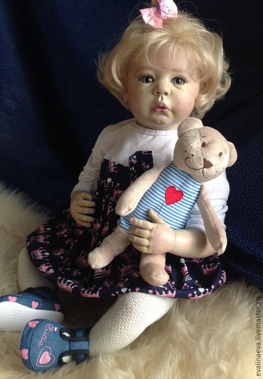 Куклы-младенцы и reborn ручной работы. Ярмарка Мастеров - ручная работа. Купить Кукла-реборн Злата.. Handmade. Кукла реборн