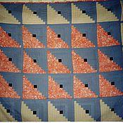 Для дома и интерьера ручной работы. Ярмарка Мастеров - ручная работа Лоскутное одеяло ОЧАРОВАНИЕ. Handmade.