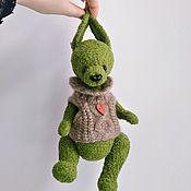 Куклы и игрушки ручной работы. Ярмарка Мастеров - ручная работа Модный заяц Даниил. Handmade.