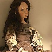 Куклы и игрушки ручной работы. Ярмарка Мастеров - ручная работа Кукла будуарная. Лиззи. Handmade.