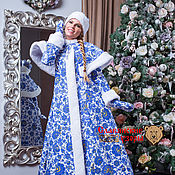 Одежда handmade. Livemaster - original item The Fur Coat Of The Snow Maiden. Handmade.