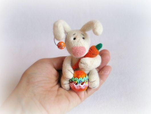 Игрушки животные, ручной работы. Ярмарка Мастеров - ручная работа. Купить Пасхальный зайчик.. Handmade. Пасха, зайчонок